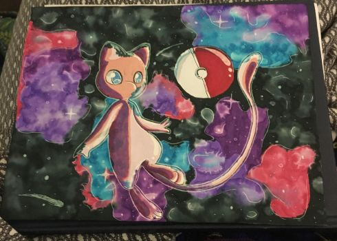 Mew in space by SugarDoodleBell