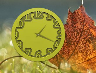 Embossed Green Watch for xwidget by Jimking
