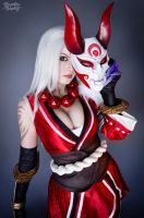 Bloodmoon Diana - League of Legends by Kinpatsu-Cosplay