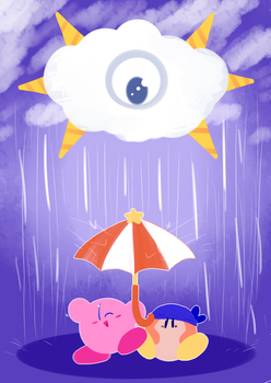 Rain Rain Go Away by metaknighto