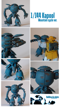 1/144 Kapool Ver. Mountain Cycle by BuildingDaRobots
