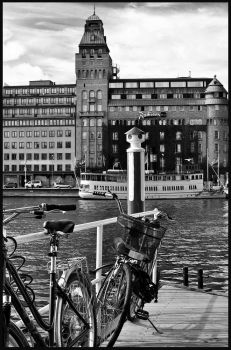 STOCKHOLM in black and white by swealex