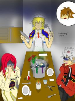 Cooking with Noel by Camelliawolf