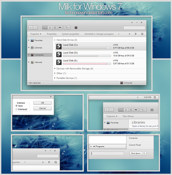 Milk Final for Windows 7 by technoseven
