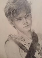 Newt - The maze runner by TheDrawingsOfSela