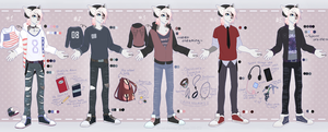 Pastel Kit's outfits by LaraWesker