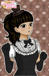 (My OC for Black Butler) Angela Lee by sebastianlittlequeen