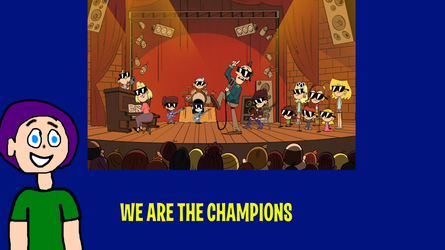 Brendan and Louds Sing We are the Champions by MikeJEddyNSGamer89