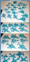 NLR Navy Aircraft: 1:144 scale by lonewolf3878
