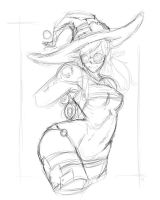 31072015 Mage Sketch by pavcho997
