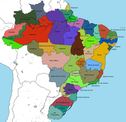 Proposed States of Brazil by DinoSpain