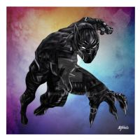 Black Panther by Tronic33