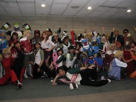 Tiger and Bunny Gathering AX 2012 by CrimsonAether