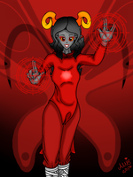 Aradia Megido the Maid of Time by ShinjitsuForever