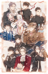 Ace Attorney: Personal best boy print by batensan
