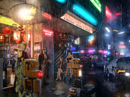 Bladerunner.Gaff by ReplicantRebel