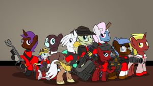 TF2 Brony Analysts by Xain-Russell
