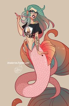 Character Design - ECCC 2017 Mermaid by MeoMai