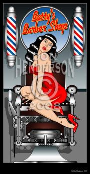 Betty's Barber Shop by yankeedog