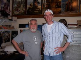 Me and Larry Elmore by DChan75