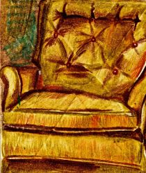 Yellow Chair by JessicaAFitzgerald