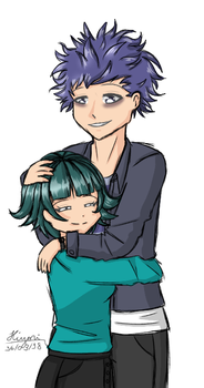 [CMM] Hitoshi and Ishime by PinkPearlMLP