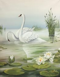 Swans - searching for original artist by soulartist90