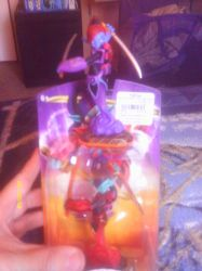 Scarlet Ninjini Skylander and Ninjini by Sliverbolt