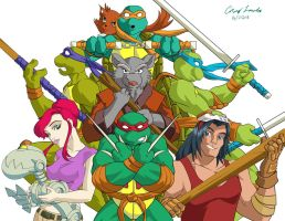 ArtForce 2000s Jam Teenage Mutant Ninja Turtles by coreylandis