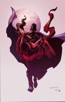 Red month - Magneto scarletwitch by Eddy-Swan-Colors