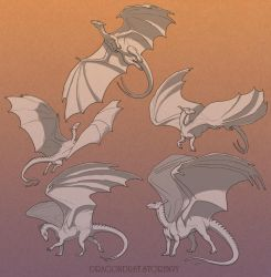 Pern Dragons - Adults set by mirroreyesserval