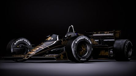 Lotus 98T - Ayrton Senna by nancorocks
