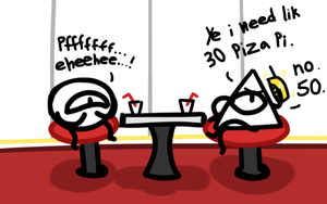 yv and yc order pizza by Lynn-Blackwing