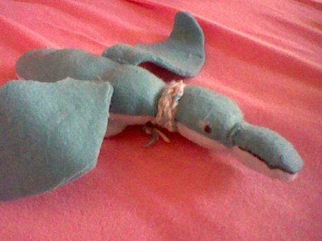 Old dragon plushie (2014) by Yellyy