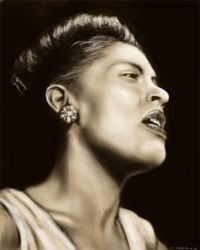 Billie Holiday by NikSebastian