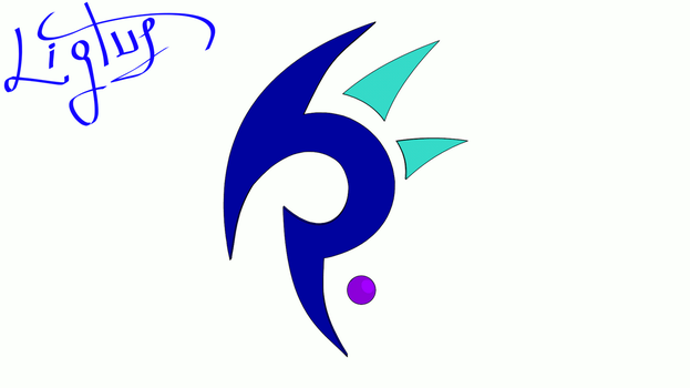 Teil symbol (cell shaded btw) by Ligtus