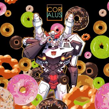 RID: Prowl and donuts by c0ralus