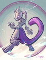 Mewtwo by 3nrique