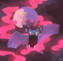 [Day 14 and 15] Musharna and Golbat