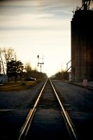 Tracks to Nowhere by robertllynch