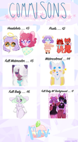 EMERGENCY Commissions ( POINTS ACCEPTED ) by Mavaroon