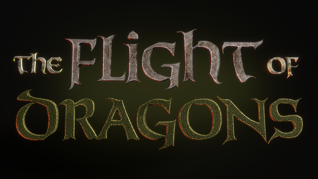 TFOD - The Flight of Dragons Logo - 1 by paulrich