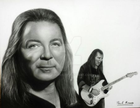 Dave Murray - Iron Maiden by Polonx