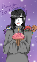 Happy Early Birthday Bon!! by NightmareQueenKasei