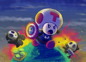 Captain Toad: Winter Tracker by HipsterAnt