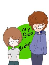 my giant brother by kattyanimations
