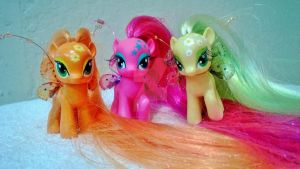 G4 My Little Pony Filly Fairies by heatherwendling