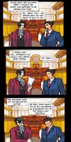 A Phoenix Wright Joke by MysticBlackmoon