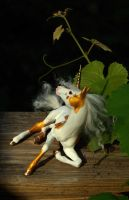 Unicorn foal mold- Golden Day by SovaeArt