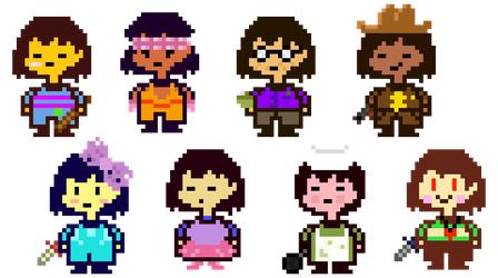 8 Souls (updated) by stormRed1236